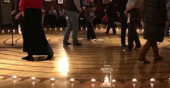 trinity episcopal church labyrinth