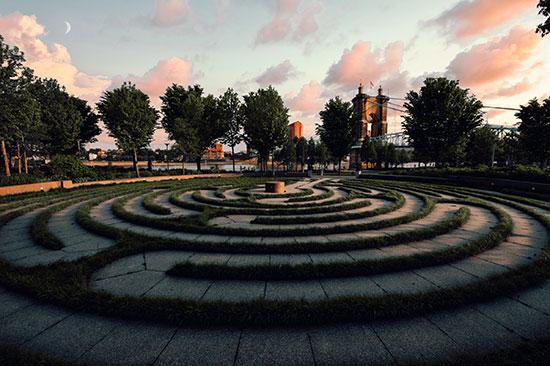 Cincinatti, OH Labyrinth
