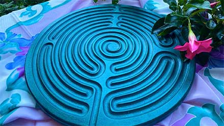 Monday Finger Labyrinth Meditation